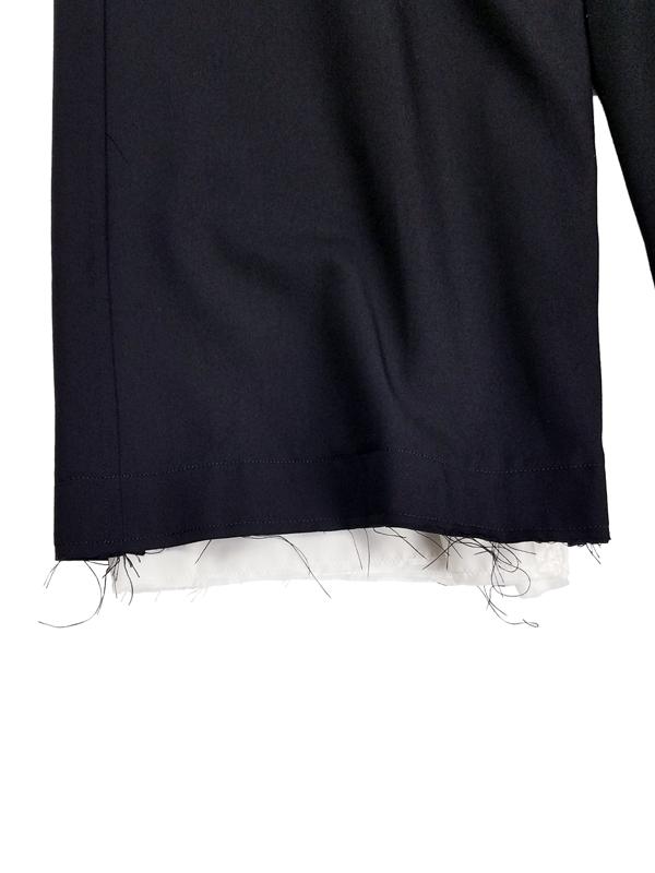 sulvam サルバム classic pants クラシックパンツ ブラック P50-100