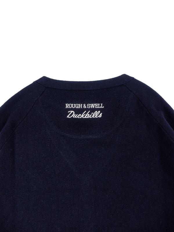 rough&swell ラフアンドスウェル LONDON CARDIGAN カーディガン ネイビー RSM-20276 / ゴルフウェア メンズ ラフ&スウェル