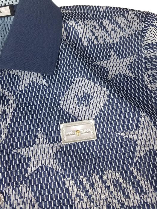 MARK&LONA マークアンドロナ ポロシャツ ネイビー Rewind Mesh Polo | MEN MLM-9A-AP05