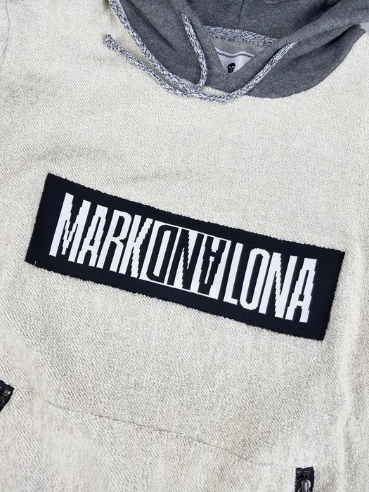 MARK&LONA マークアンドロナ プルオーバーパーカー グレー DEXTER HOODY|MEN ML-18S-C01