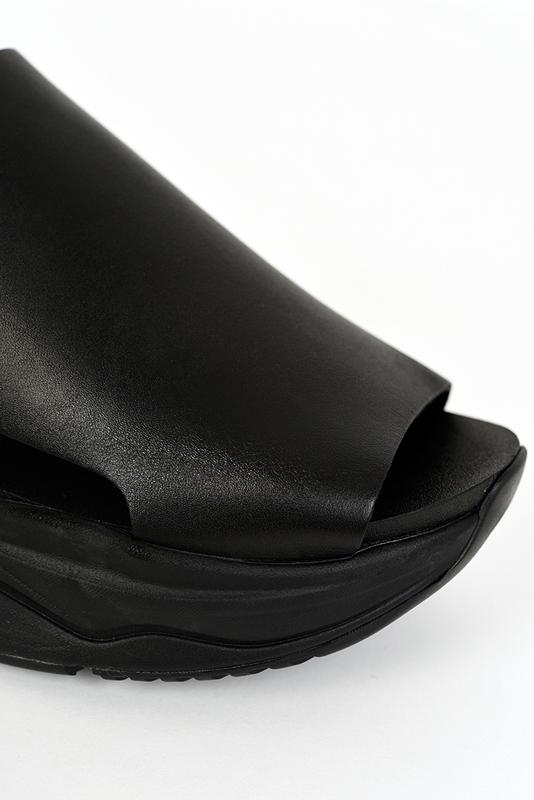LAD MUSICIAN ラッドミュージシャン SANDAL サンダル ブラック×ブラック 2320-901