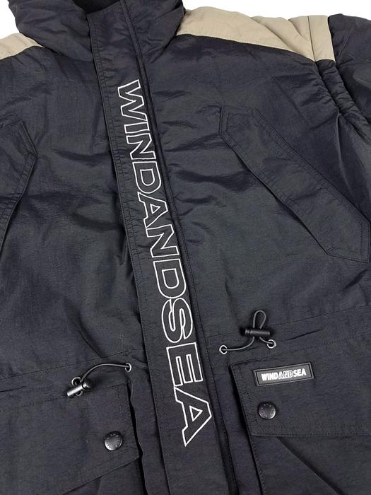 WIND AND SEA ウィンダンシー WDS DETACHABLE BLOUSON WDS デタッチャブルブルゾン グレー WDS-19A-JK-04 /ブルゾン