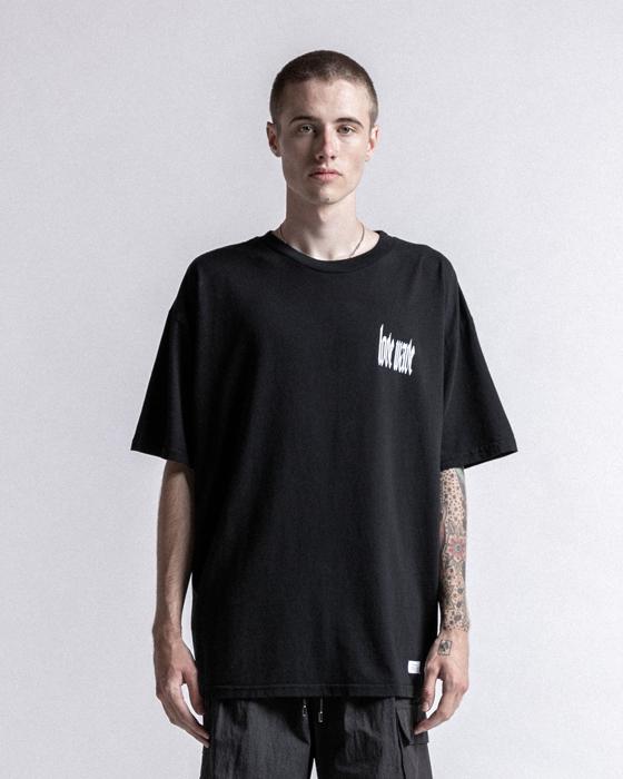 STAMPD スタンプド Love Wave Tee Tシャツ ブラック SLA-M2257TE