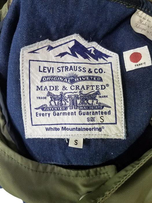 White Mountaineering ホワイトマウンテニアリング WM x LMC MODS COAT LEVI'S リーバイス コラボ モッズコート インディゴ WM2073226