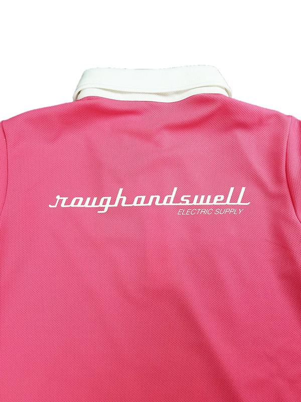 【WOMEN】 rough&swell for WOMEN ラフアンドスウェル ウィメン MICHELLE POLO W. ポロシャツ ピンク RSL-21004 / ゴルフウェア レディース ラフ&スウェル