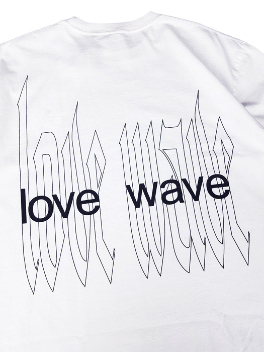 STAMPD スタンプド Love Wave Tee Tシャツ ホワイト SLA-M2257TE