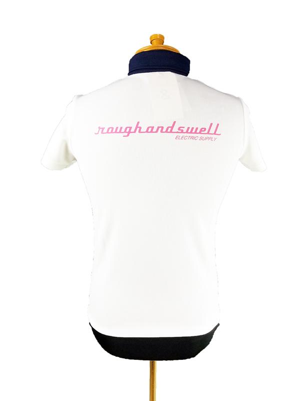 【WOMEN】 rough&swell for WOMEN ラフアンドスウェル ウィメン MICHELLE POLO W. ポロシャツ ホワイト RSL-21004 / ゴルフウェア レディース ラフ&スウェル