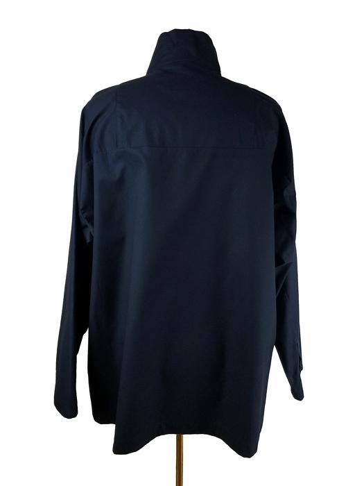 White Mountaineering ホワイトマウンテニアリング TWILLED PULLOVER SHIRT プルオーバーシャツ ネイビー WM2171101