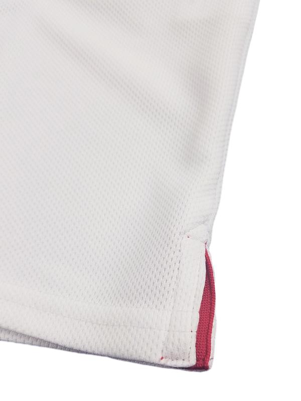 rough&swell ラフアンドスウェル ボタンダウン ポロシャツ ホワイト CHAT B.D.POLO RCH-19002 / ラフ&スウェル ゴルフ メンズ
