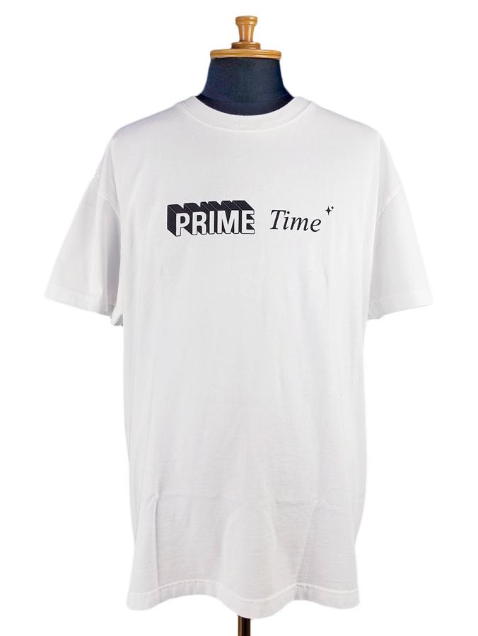 STAMPD スタンプド Prime Time Tee Tシャツ ホワイト SLA-M2259TE