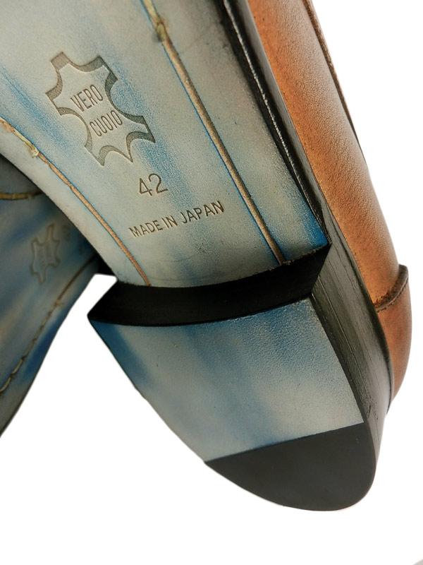 blanc.(10) ブラン blc-50003 モカシンローファー キャメル / marchercher マーシェルシェ