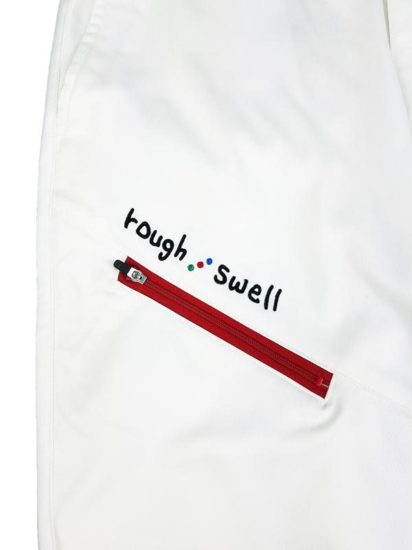 rough&swell ラフアンドスウェル CRUISE PANTS パンツ ホワイト RSM-21252 / ゴルフウェア メンズ ラフ&スウェル