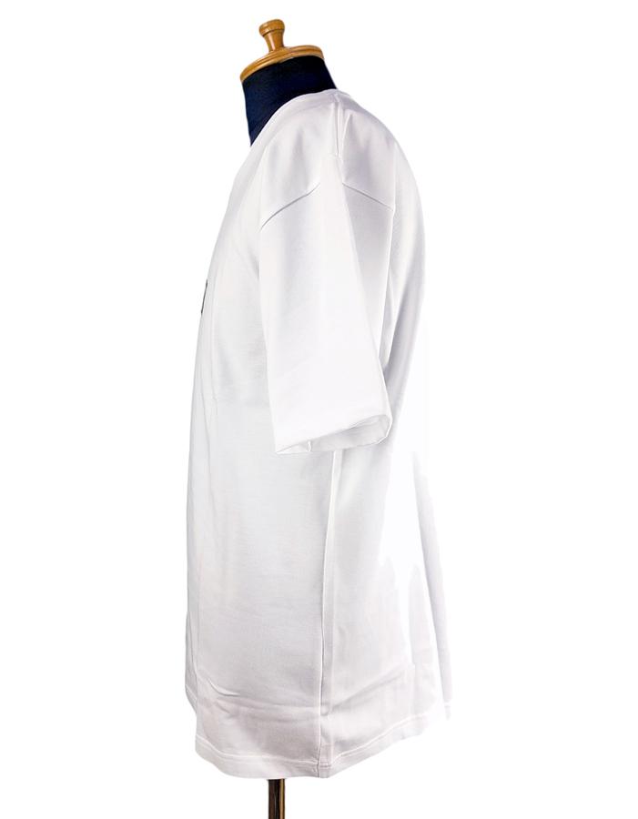 NUMBER (N)INE ナンバーナイン Tシャツ ホワイト×ベージュ コラボレーション GOD SELECTION XXX ゴッドセレクショントリプルエックス BJ3NXT001 / numbernine