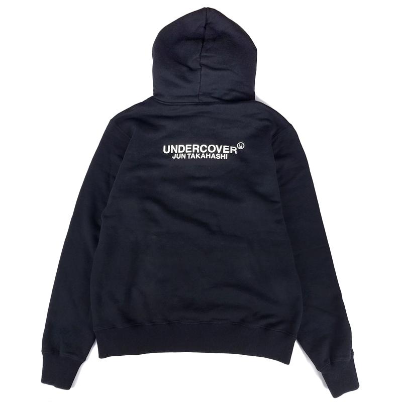 UNDERCOVER アンダーカバー HOODIE 和 A パーカー ブラック UCZ4893-5