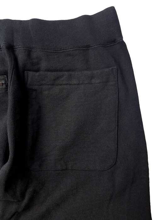 UNDERCOVER アンダーカバー 度詰裏毛作務衣パンツ ブラック UCZ4507