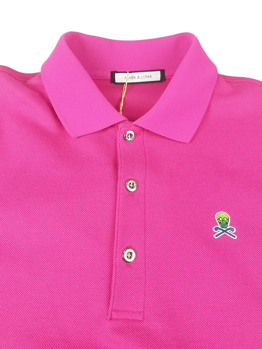 MARK&LONA マークアンドロナ ポロシャツ マゼンタ Ace Polo   MEN MLM-9A-AP01