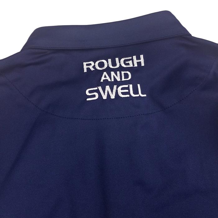 rough&swell ラフアンドスウェル シャツ Pe.ストレッチジャージー ネイビー THOMPSON TOUR SHIRT RSM-19201 / ラフ&スウェル ゴルフ メンズ