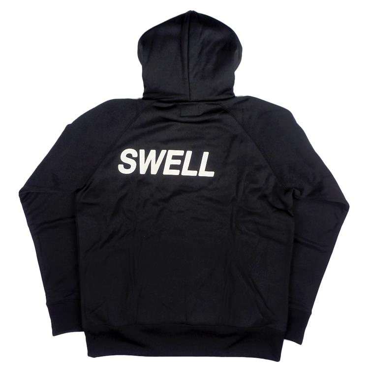 rough&swell ラフアンドスウェル BIG LOGO HOODIE プルオーバーパーカー ブラック RSM-20205 / ゴルフウェア メンズ ラフ&スウェル