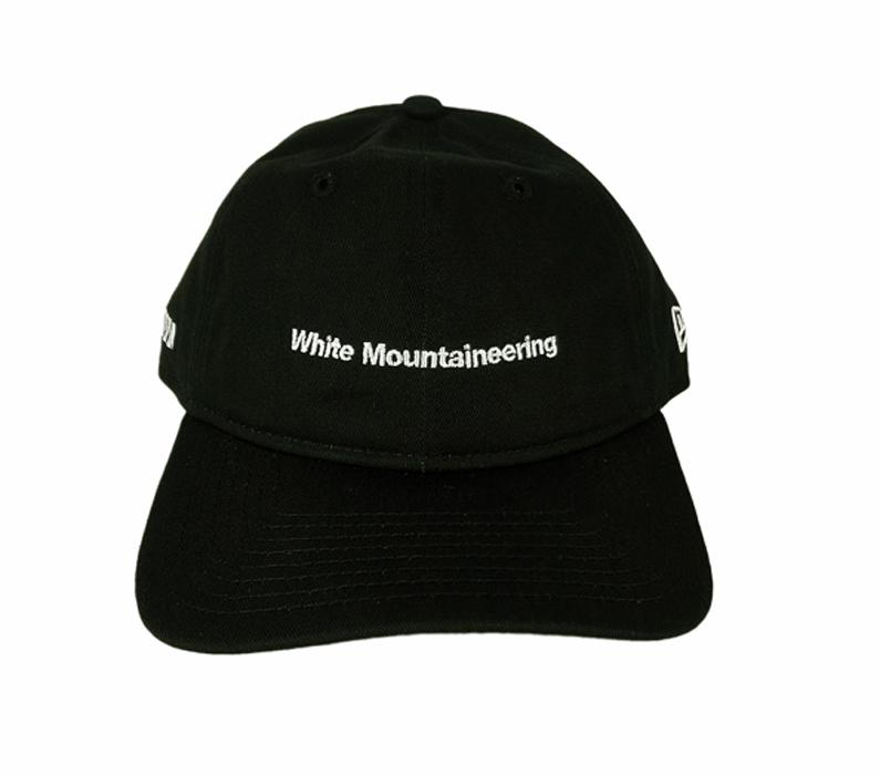 White Mountaineering ホワイトマウンテニアリング WM×NEW ERA CAP '9THIRTY PACKABLE' ブラック WM2171825
