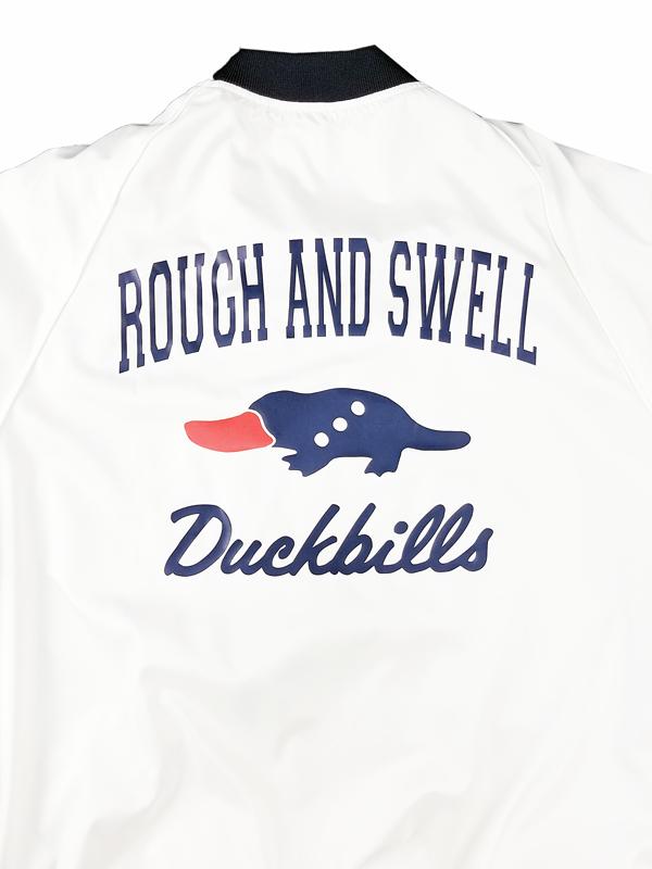 【WOMEN】 rough&swell for WOMEN ラフアンドスウェル ウィメン GOLF PEACE SNEAD W. スヌード ホワイト RSL-21224 / ゴルフウェア レディース ラフ&スウェル