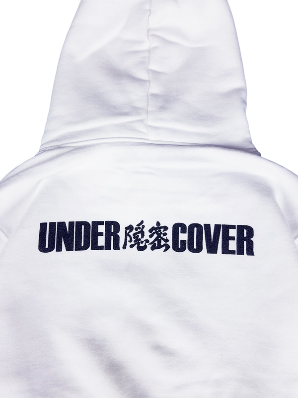 UNDERCOVER アンダーカバー HOODIE UNDER隠密COVER パーカー ホワイト UCZ4893-6