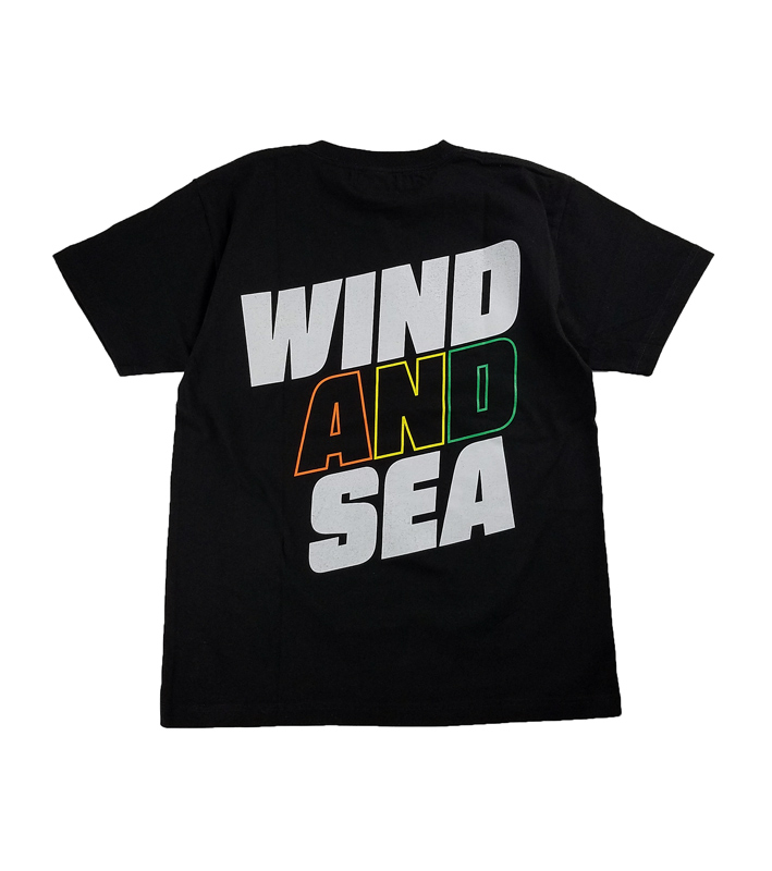 WIND AND SEA ウィンダンシー SEA (juicy-fresh) T-SHIRT  Tシャツ ブラック WDS-21S-TPS-06