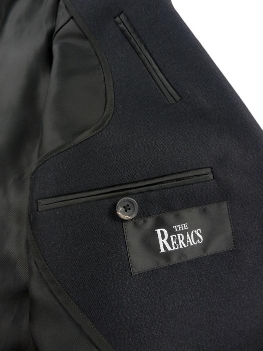 THE RERACS ザ・リラクス ウールモヘヤ 1Bジャケット ダークネイビー 15FW-REJK-030