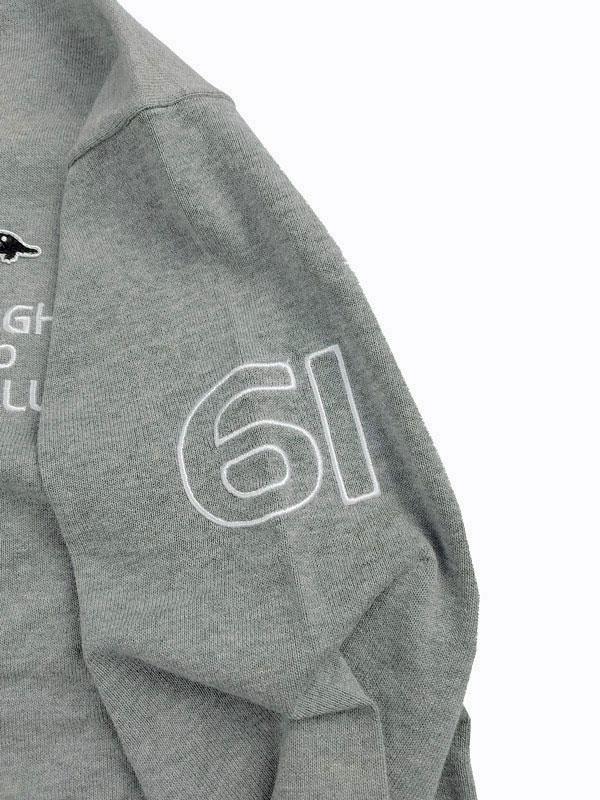 rough&swell ラフアンドスウェル CROWN TOUR V-NECK Vネックニット グレー RSM-21088 / ゴルフウェア メンズ ラフ&スウェル
