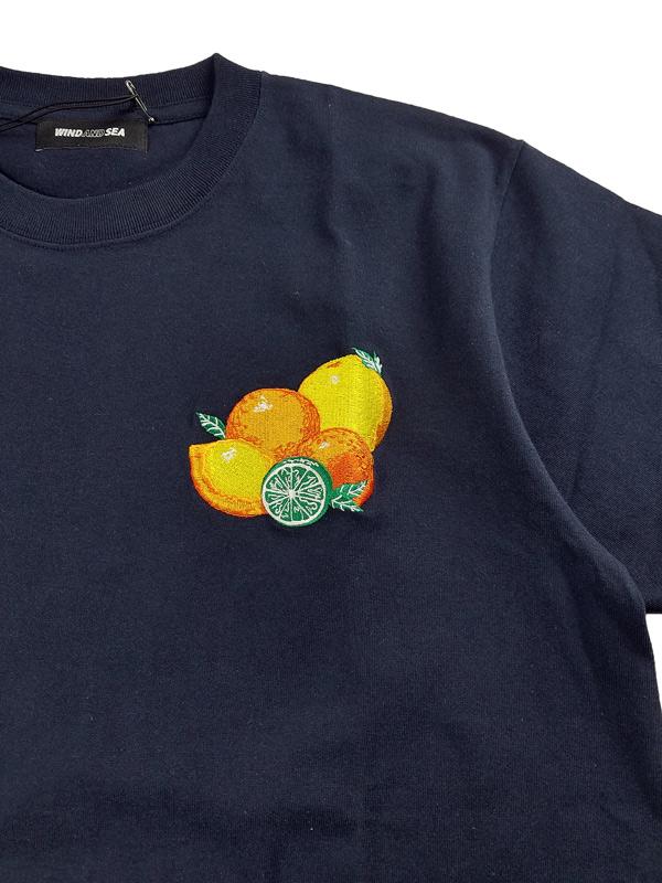 WIND AND SEA ウィンダンシー SEA (juicy-fresh) T-SHIRT  Tシャツ ネイビー WDS-21S-TPS-06