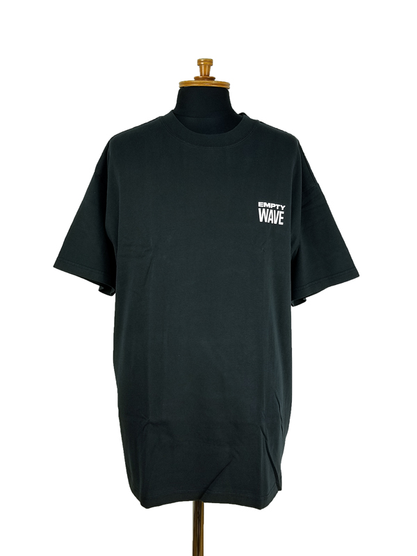 STAMPD スタンプド Empty Wave Relaxed Tee Tシャツ ブラック SLA-M2707TE