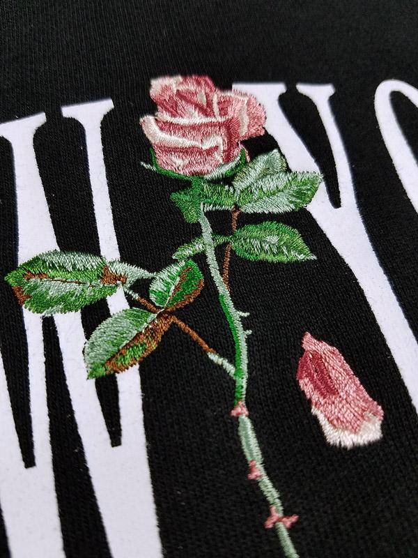 STAMPD スタンプド NEW York Rose Hoodie パーカー ブラック SLA-M2767HD