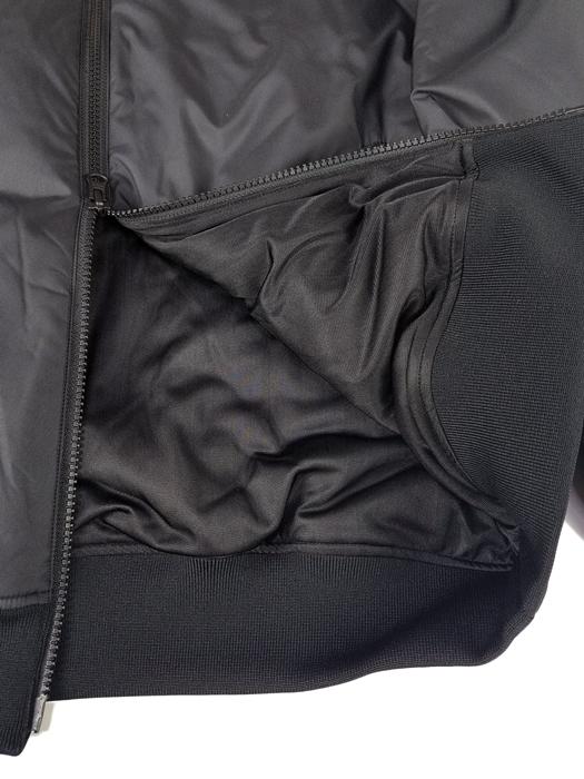 rough&swell ラフアンドスウェル 中綿ブルゾン ブラック SHOT MAKER DENVER RSM-19236 / ラフ&スウェル ゴルフウェア メンズ