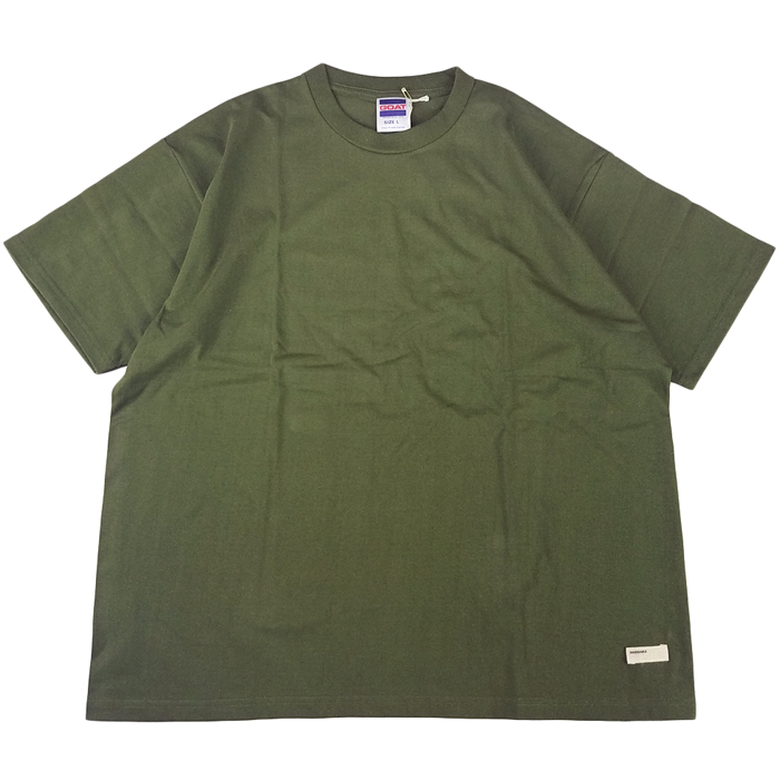 NAISSANCE ネサーンス GOAT T-SHIRT カーキ 20S-NSA-CS-14 / Tシャツ