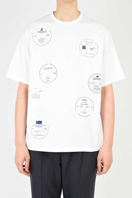 LAD MUSICIAN ラッドミュージシャン BIG T-SHIRT ビッグTシャツ ホワイト 2121-801