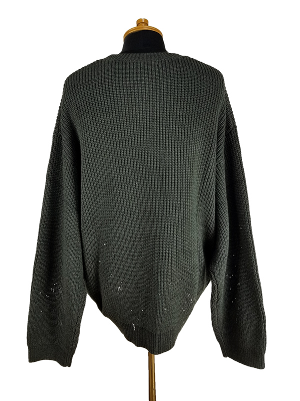 STAMPD スタンプド Studio Cableknit Sweater ニット チャコール SLA-M2705KW