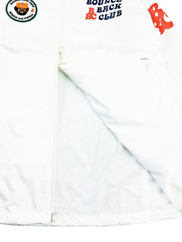 rough&swell ラフアンドスウェル B.B.C. HOODIE フーディー ホワイト RSM-21231 / ゴルフウェア メンズ ラフ&スウェル
