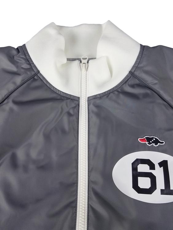 rough&swell ラフアンドスウェル ブルゾン グレー RACING DENVER RSM-19239 / ラフ&スウェル ゴルフウェア メンズ