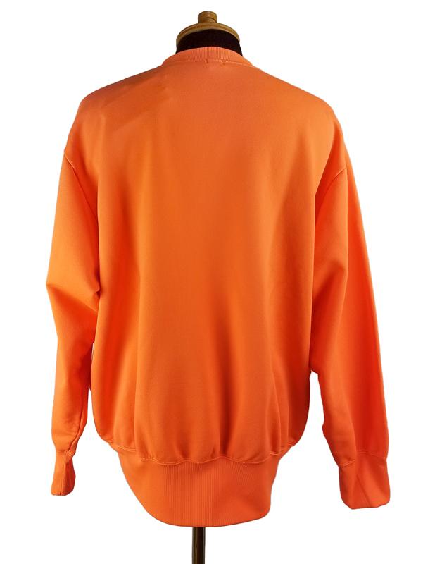 kolor BEACON カラービーコン 製品染め裏毛スウェット ブライトオレンジ 20WBM-T01231