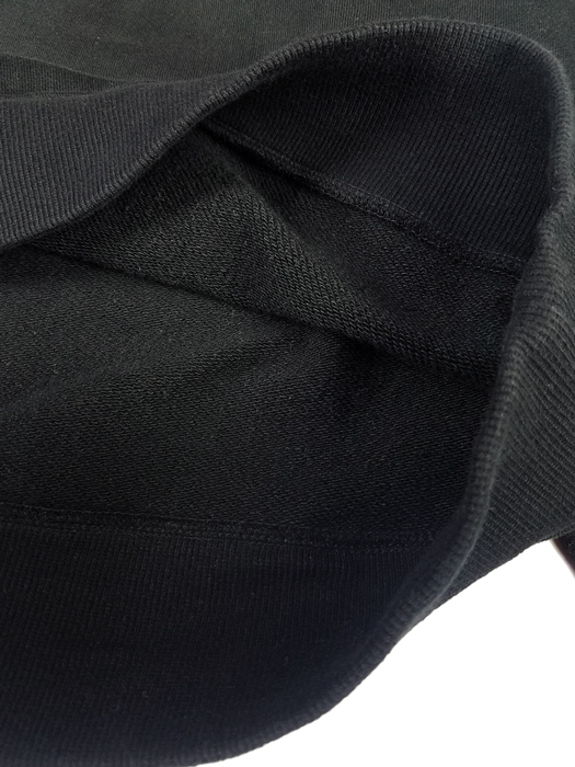 NAISSANCE ネサーンス SWEAT CUT-SEWN スウェット ブラック 20S-NSA-CS-02