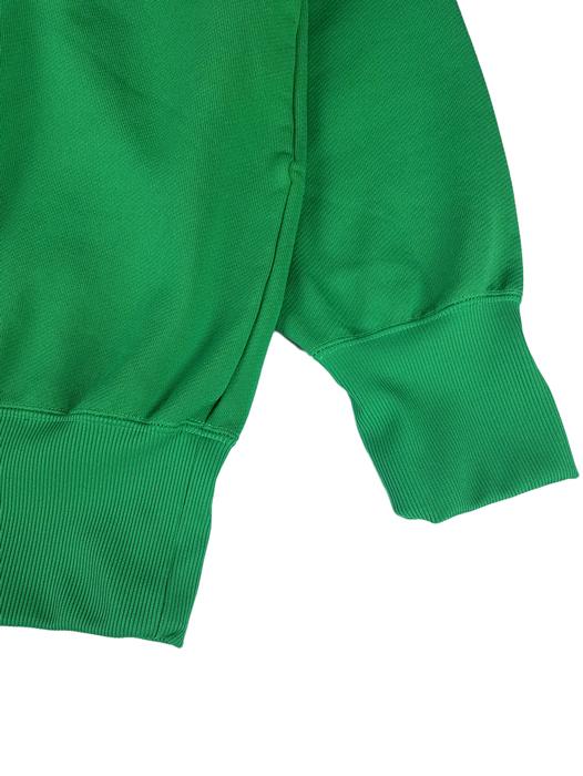 kolor BEACON カラービーコン 製品染め裏毛スウェット グリーン 20WBM-T01231