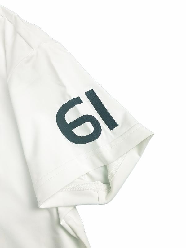 【WOMEN】 rough&swell for WOMEN ラフアンドスウェル ウィメン TAKE HEART POLO W. ポロシャツ ホワイト RSL-21002 / ゴルフウェア レディース ラフ&スウェル