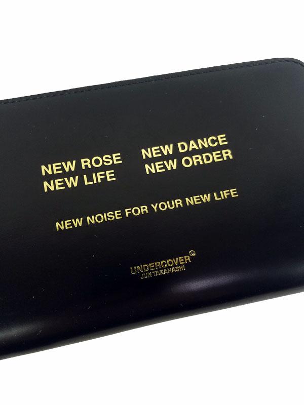 UNDERCOVER アンダーカバー ZIP長財布 NEW LIFE ブラック UC1A4C01-1