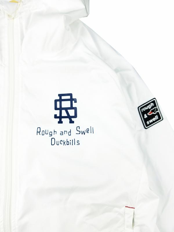 rough&swell ラフアンドスウェル NEW ENGLAND HOODIE フーディー ホワイト RSM-21232 / ゴルフウェア メンズ ラフ&スウェル