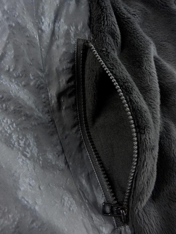 MofM マンオブムーズ リバーシブルベスト ブラックxグレー 3210-JK11 / マンオブ man of moods