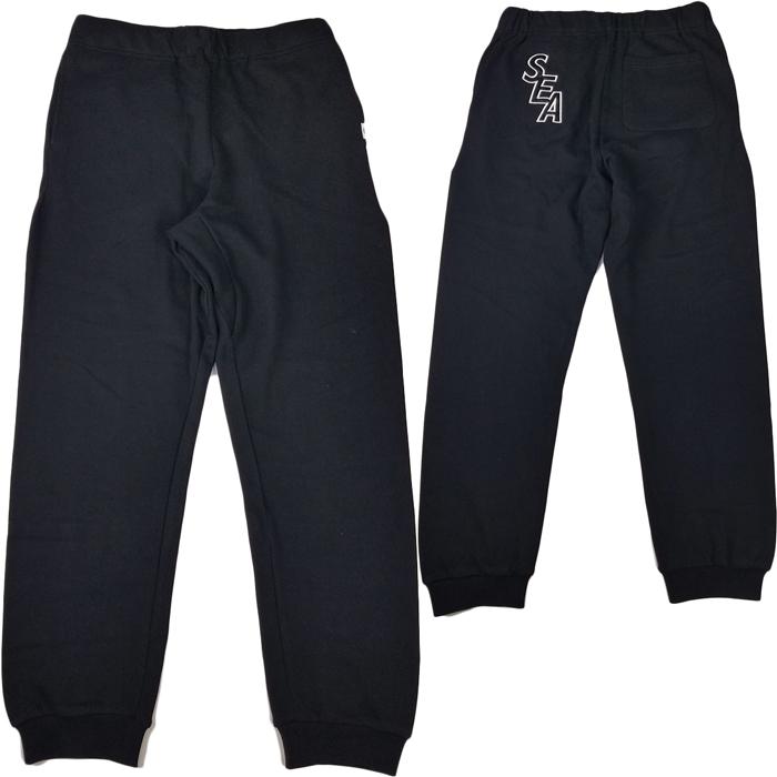WIND AND SEA ウィンダンシー S-E-A SWEAT PANTS スウェットパンツ ブラック WDS-19A-PT-01 /パンツ