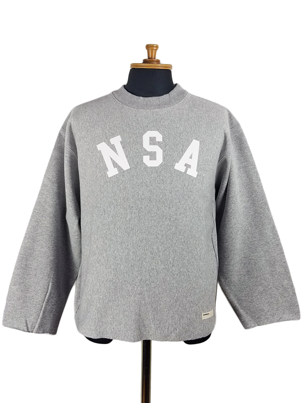 NAISSANCE ネサーンス GRAPHIC SWEAT CUT-SEWN スウェット グレー 20S-NSA-CS-03