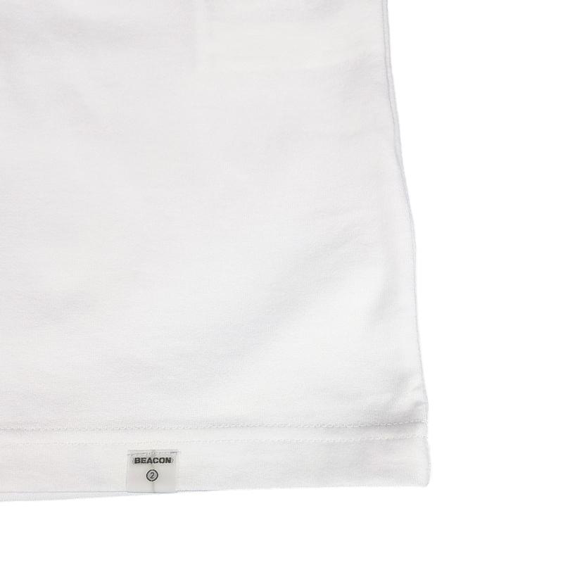 kolor BEACON カラービーコン マガジンプリント Tシャツ ホワイト 20WBM-T05235