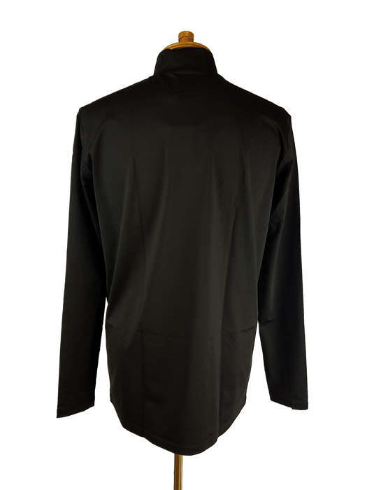 MARK&LONA マークアンドロナ Wonder Compression Mock neck shirts | MEN モックネックシャツ ブラック MLM-1C-AU01