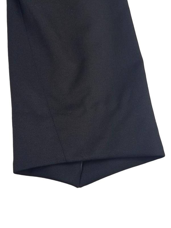 sulvam サルバム cropped PT クロップドパンツ ブラック SL-P03-100 / パンツ