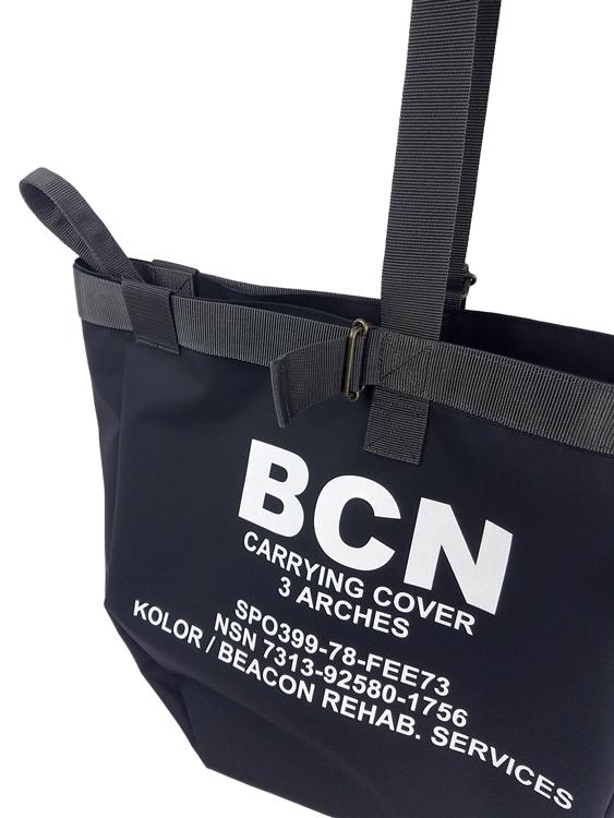 kolor BEACON カラービーコン バッグ ブラック 20WBM-A02532